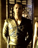 Jacob Anderson from the HBO series GAME OF THRONES