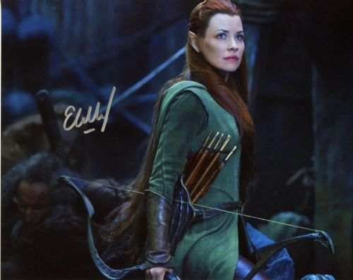 Evangeline Lilly from the movie THE HOBBIT