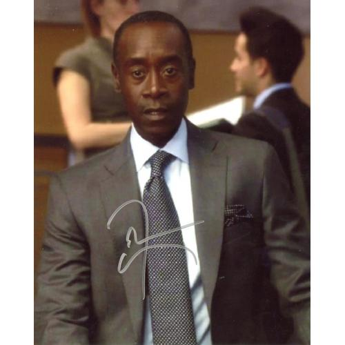Don Cheadle HOUSE OF LIES In Person Signed Photo
