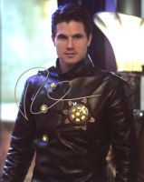 Robbie Amell from the TV series THE FLASH