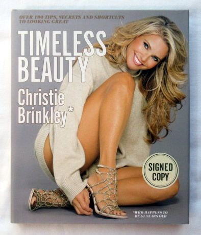 Christie Brinkley TIMELESS BEAUTY Signed Book