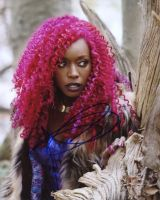 Anna Diop from the TV series TITANS