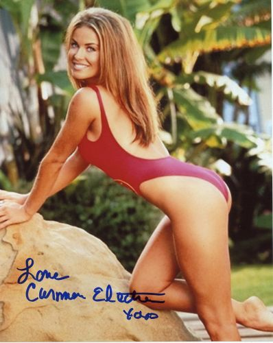 Carmen Electra from the TV series BAYWATCH