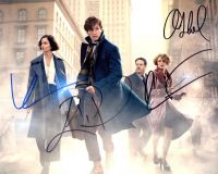 Redmayne / Sodul / Waterson / Fogel FANTASTIC BEASTS Cast Signed photo