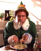 Will Ferrell from the movie ELF