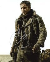 Tom Hardy from the movie MAD MAX FURY ROAD