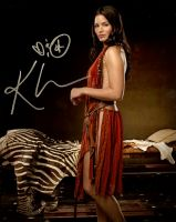 Katrina Law from the TV series SPARTACUS
