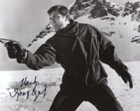 George Lazenby from the movie ON HER MAJESTY'S SECRET SERVICE