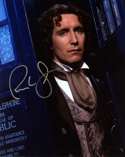 Paul McGann from the TV series DR. WHO