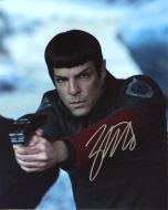 Zachary Quinto from the movie STAR TREK BEYOND - (Earn 6 reward points on this item worth $1.50)