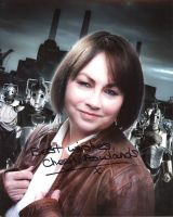 Cheryl Rowlands from the TV series DR. WHO