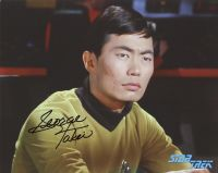 George Takei and the TV series STAR TREK - private signing