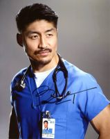 Brian Tee from the TV series CHICAGO MED