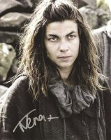Natalia Tena from the HBO series GAME OF THRONES