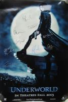 UNDERWORLD Cast Signed Movie Poster by 9