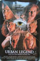 URBAN LEGEND Cast Signed Movie Poster 2 SIDED