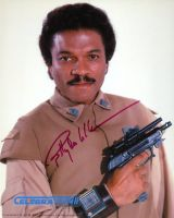 Billy Dee Williams from the movie STAR WARS  *Private Signing*