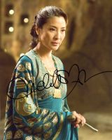 Michelle Yeoh from the movie THE MUMMY